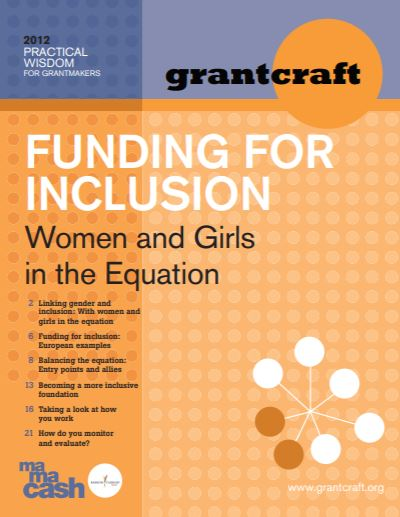 Funding for Inclusion: Women and Girls in the Equation