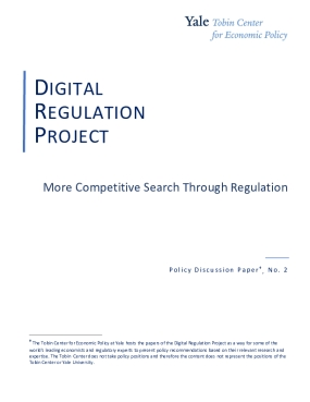 More Competitive Search Through Regulation