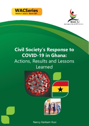 Civil Society's Response to COVID-19 in Ghana: Actions, Results and Lessons Learned